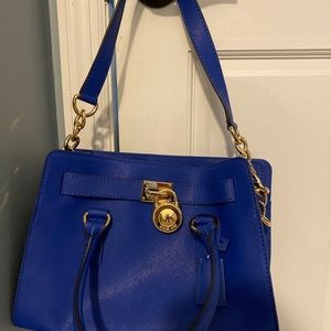 Cobalt Blue Michael Kors Bag